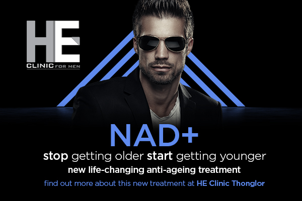 reverse ageing with NAD+ treatment at HE Clinic