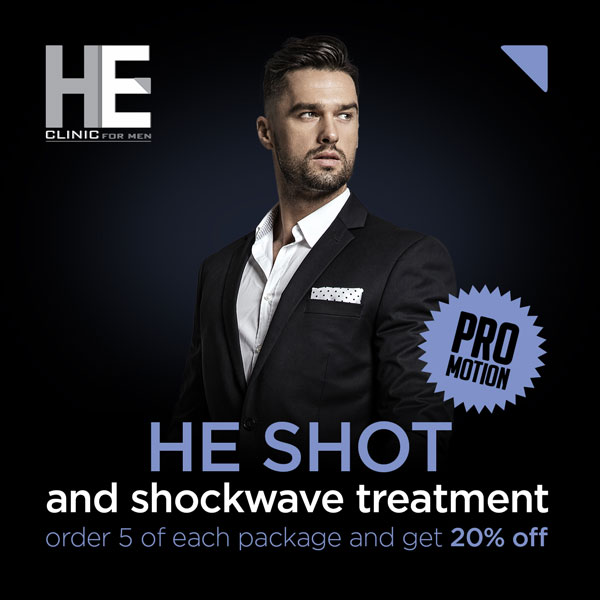 New HE shot promotion at HE Clinic