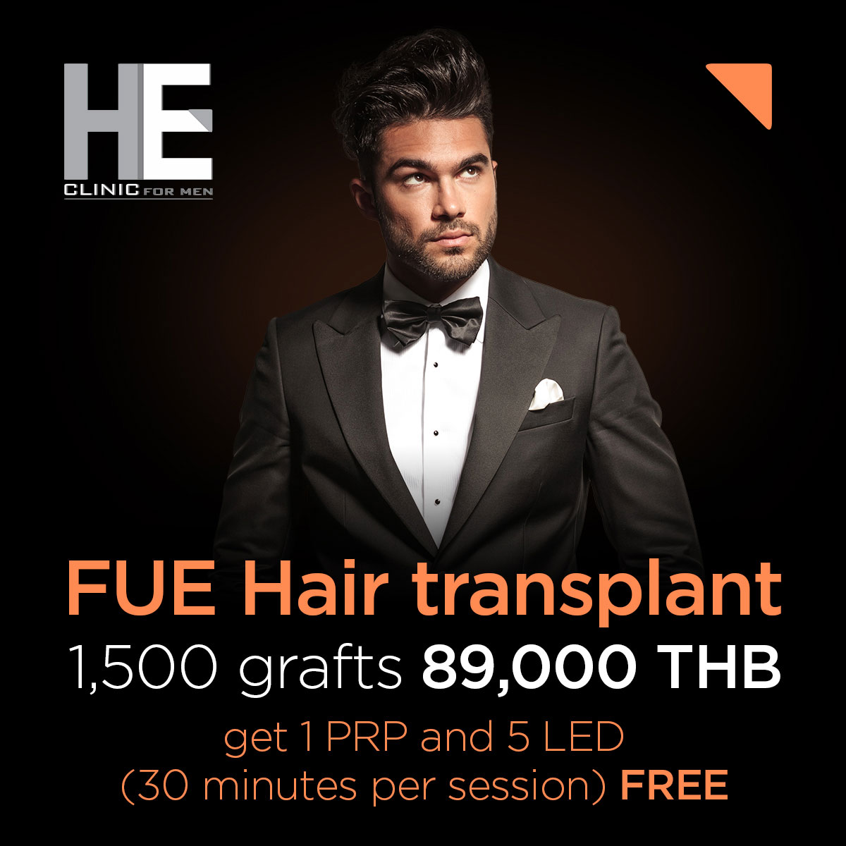 New FUE promotion at HE Clinic